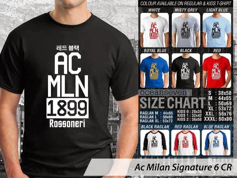 KAOS AC Milan 23 Lega Calcio distro ocean seven