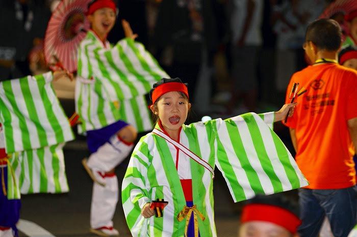 第59回よさこい祭り☆本祭2日目・升形地域競演場38☆上2目1081