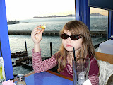 Meredith Bites A Lemon, Pier 39, San Francisco