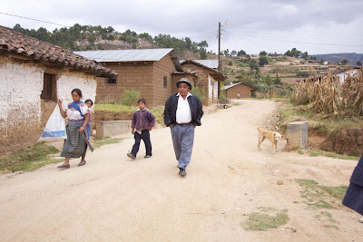 Jose in his village