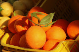 Fresh Citrus At The Roadside Market - Amalfi Coast, Italy
