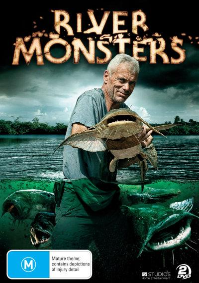 Rzeczne Potwory  River Monsters (Season 4-5) (2012-2013)  PL.DVBRip.XviD-Sante / Lektor PL