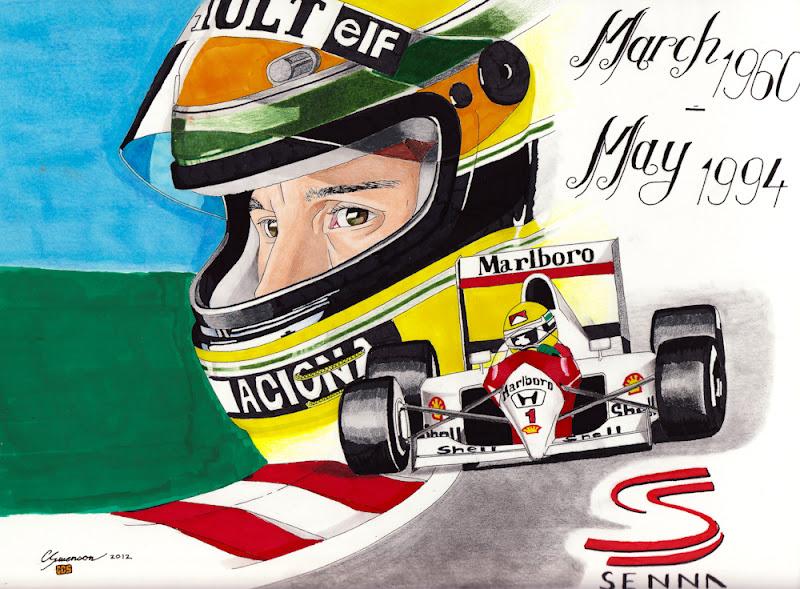 Айртон Сенна McLaren 1960-1994
