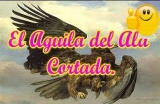 El águila de ala cortada y la zorra