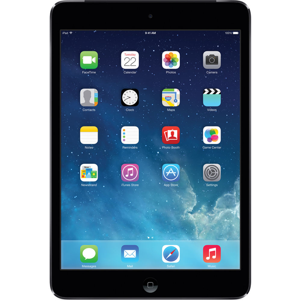 "Apple iPad Mini 16GB Wi Fi Space Gray 7 9"" Tablet w ..."