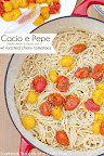 Pasta w/ Roasted Cherry Tomatoes