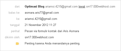 Detail Email
