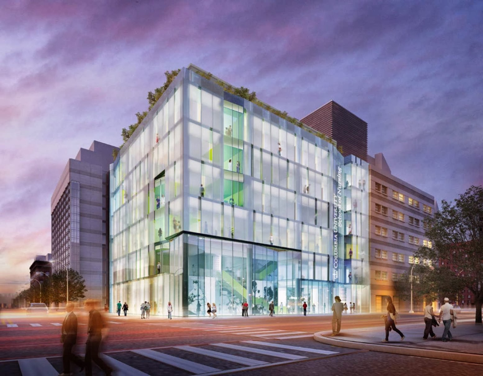 Manhattan, New York, Stati Uniti: [COLUMBIA UNIVERSITY TO BUILD NEW NURSING SCHOOL BY CO|FXFOWLE]