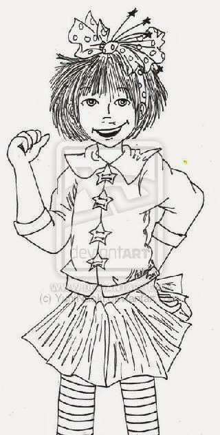junie b jones coloring pages printable - junie b jones coloring pages Coloring Sheets