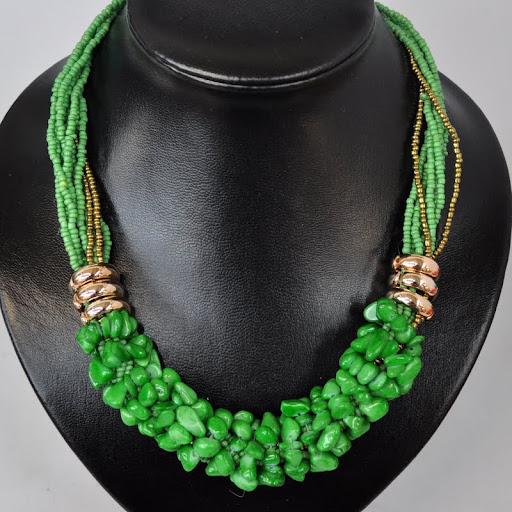 collier kette perlen stein kordel modeschmuck bettelkette halskette mehrfarbig ebay. Black Bedroom Furniture Sets. Home Design Ideas