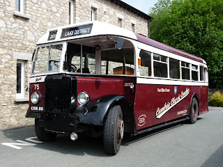 The Leyland Tiger - our transport for the day