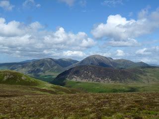 Whiteside, Mellbreak and Grasmoor.