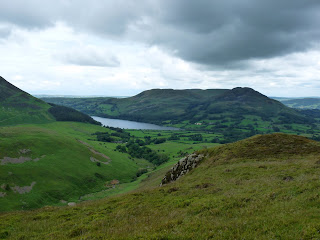 Loweswater and Low Fell from Little Dodd (Birkett)