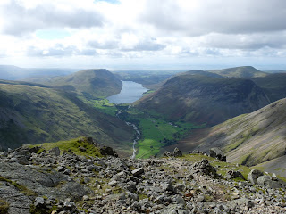 Wastwater from near Robinsons Cairn