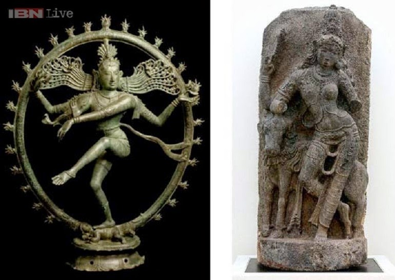 Australia returns two stolen ancient idols to India