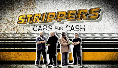 Rozbieracze Biznes w gara¿u / Strippers Cars For Cash (Season 1) (2012) PL.TVRip.XviD / Lektor PL