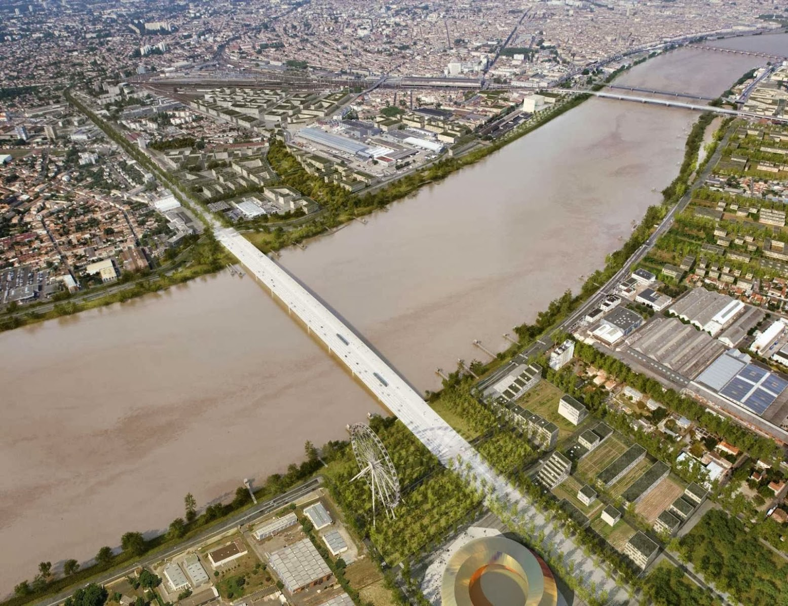 OMA wins competition to design Pont Jean Jacques