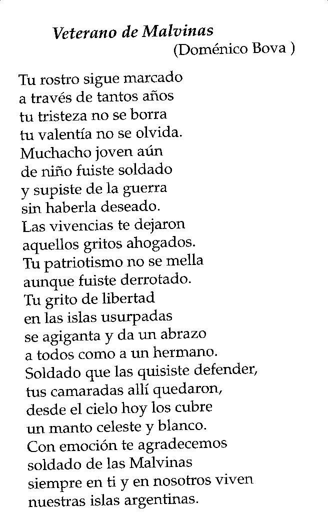 Poemas Para El DIA De Los Veteranos