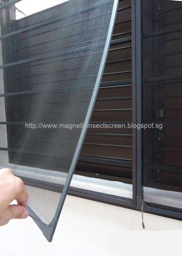 DIY Magnetic Bug Screen Kit - 1.5m x 1.2m (D5)