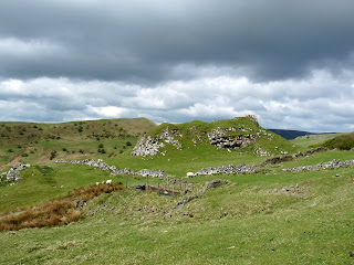Typical view north of Chrome Hill