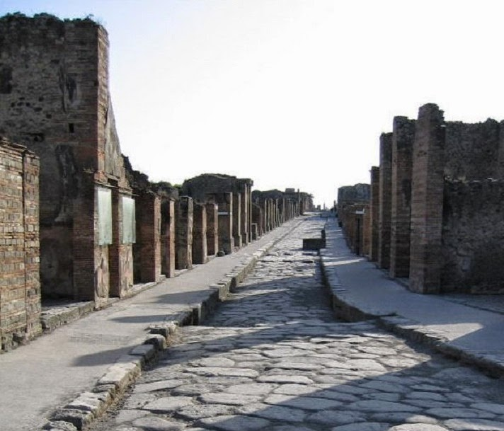 Efforts to save Pompeii succeeding, conference told