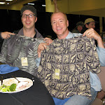 JP and AB got some relaxing vacation-wear courtesy of Jim Varnell