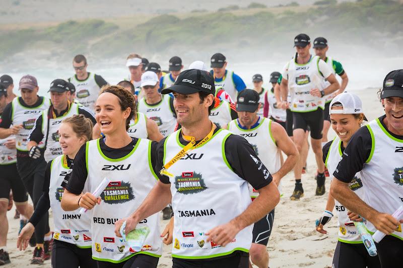 Марк Уэббер Тасмания Tasmania Challenge 29 ноября 2012