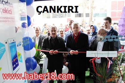 Valim Vahdettin Özcan Türk Telekom Mağazasının Açılışını Gerçekle