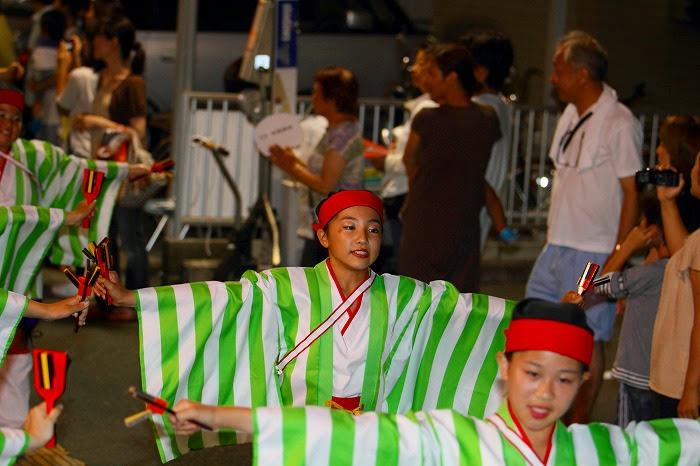 第59回よさこい祭り☆本祭2日目・上町競演場66☆上2目0353