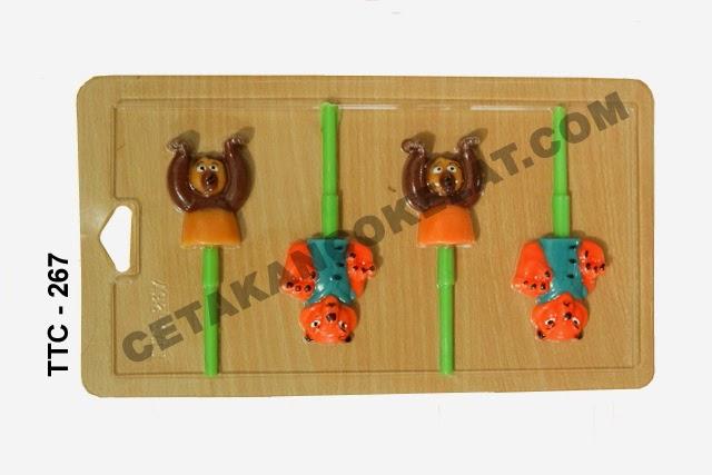 Cetakan Coklat TTC267 Kungfu Panda
