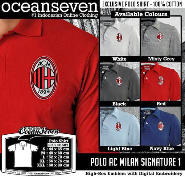 POLO AC Milan Signature distro ocean seven
