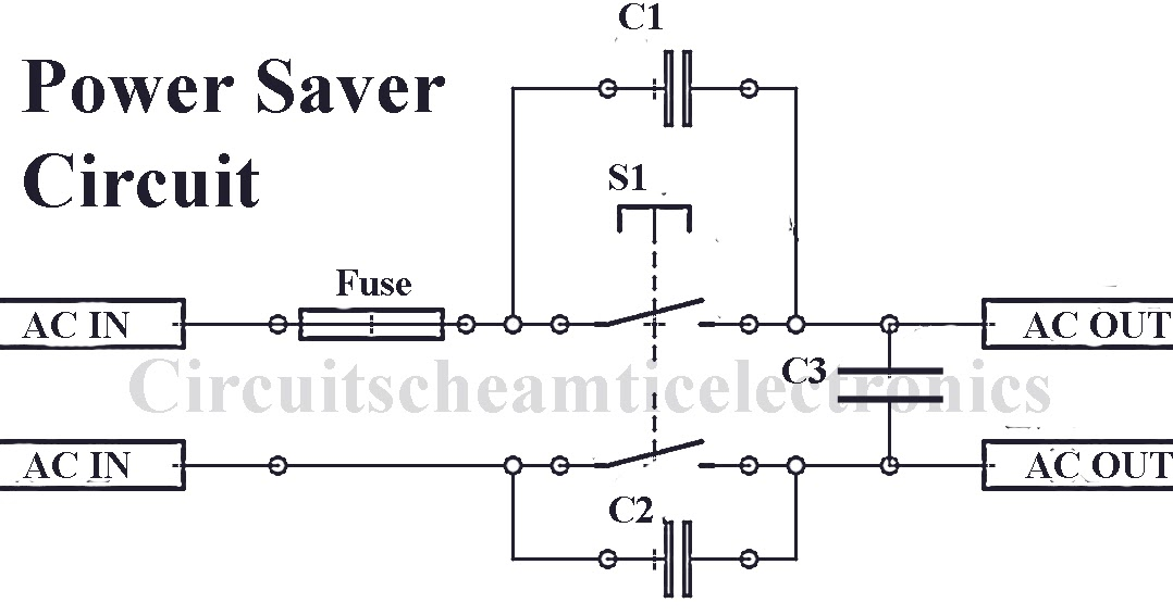 Home Power Saver Circuit Diagram | Electricity Saver Circuit Diagram Aaen Rennsteigmesse De