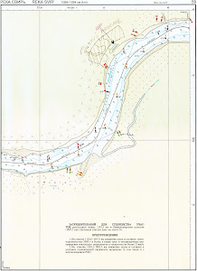 Thumbnail Russian internal water ways atlas 59-reka svir 1098-1094 km