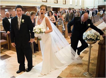 Fotos que você nunca verá nos albuns de casamento - Parte 2