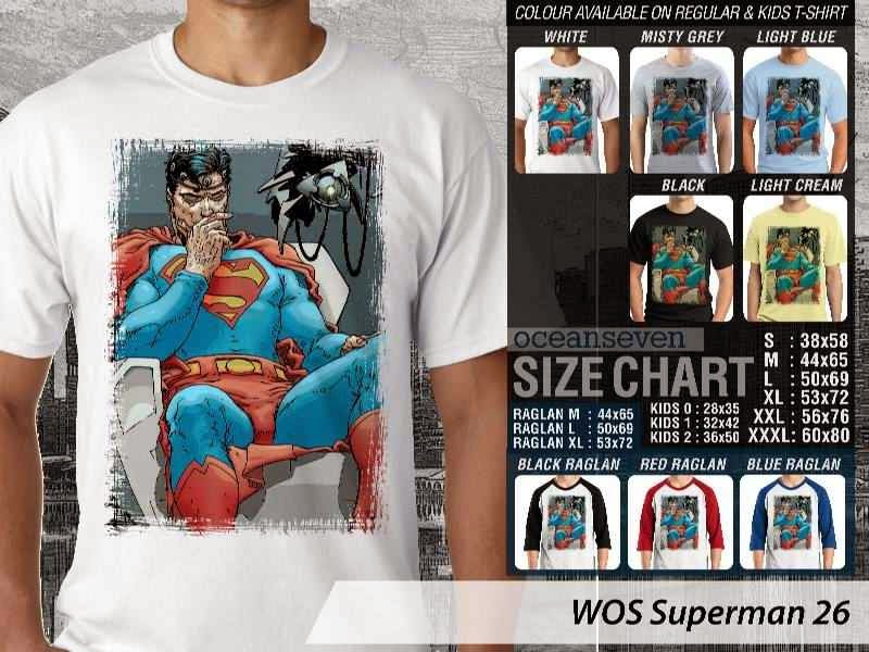 KAOS superman 26 Movie Series distro ocean seven