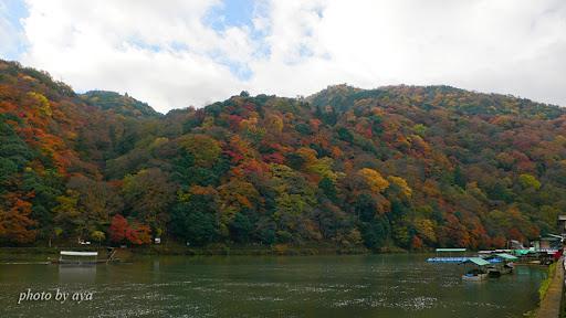 嵐山の紅葉3