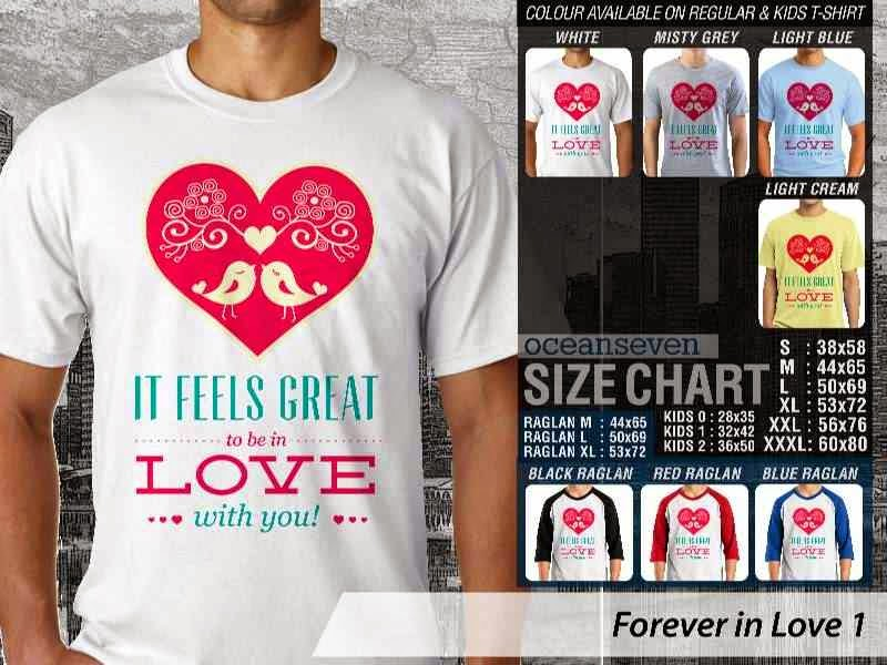 KAOS Couple It feels great to be in love with you |KAOS Forever in Love 1 distro ocean seven