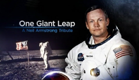 w ho³dzie Neilowi Armstrongowi / One Giant Leap: A Neil Armstrong Tribute (2012) PL.TVRip.XviD / Lektor PL