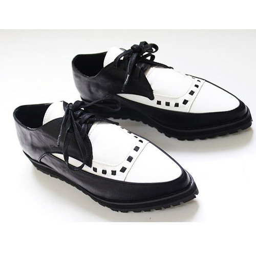 Unique Aliexpresscom  Buy Free Shipping Casual Black White Lace Up