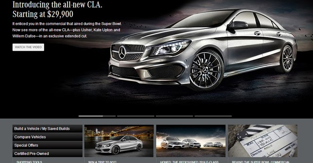 New mercedes benz cla 250 priced from 29900 in the usa for Mercedes benz usa website