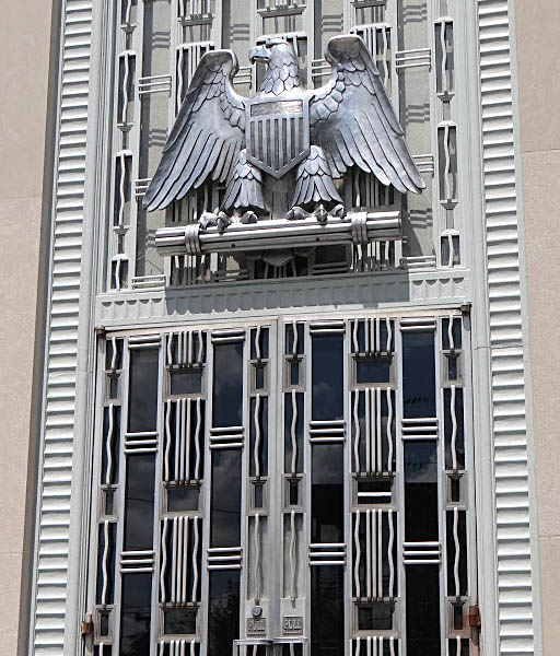 Reidsville, NC Art Deco eagle