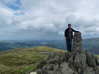 Me at Place Fell Summit