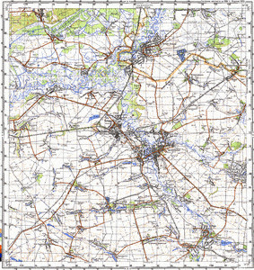 Map 100k--m36-033--(1988)