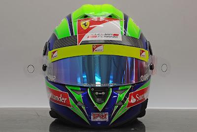 шлем Фелипе Массы на Гран-при Индии 2011