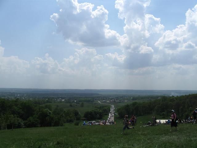 вид с высоты Конева