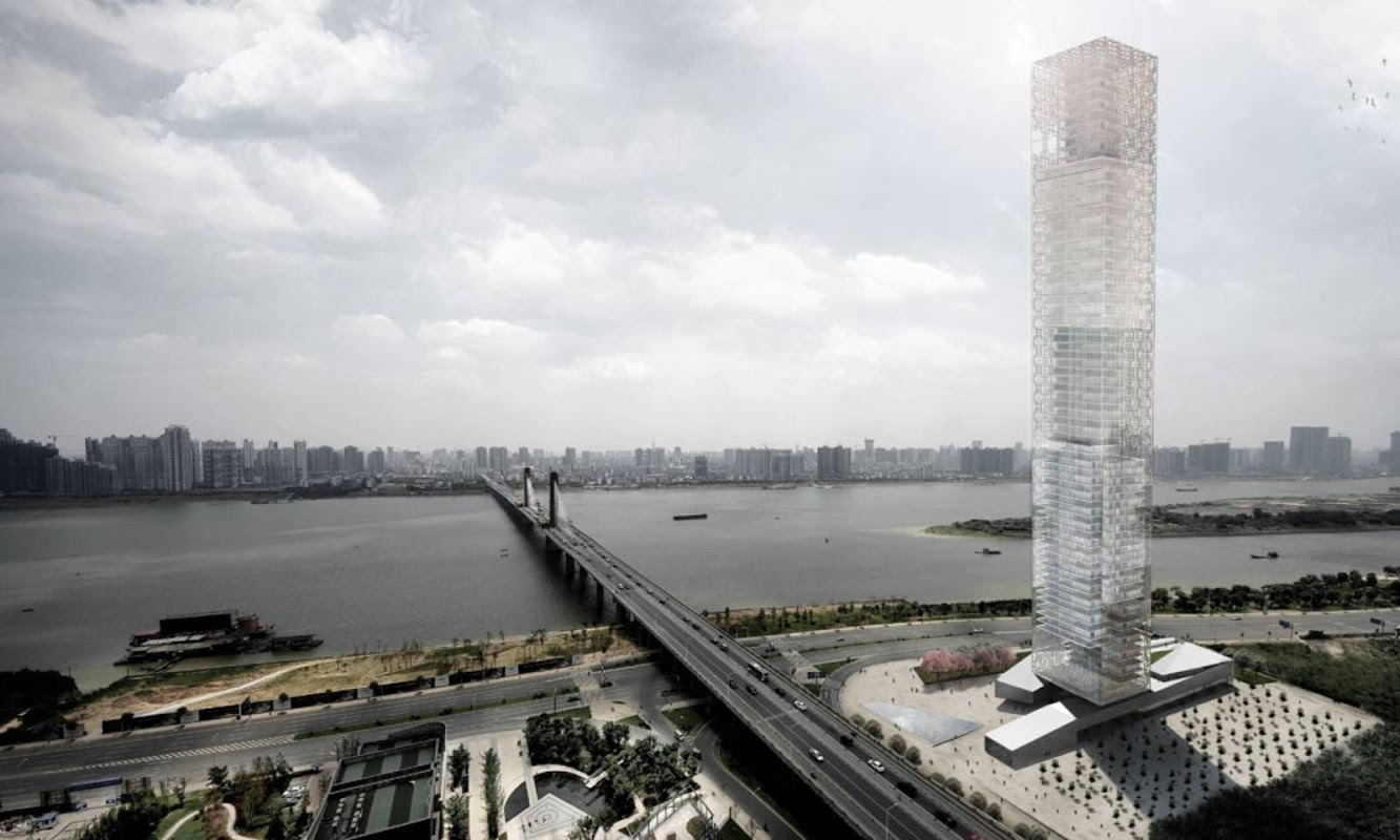 Xiang River Tower by Rrc Studio