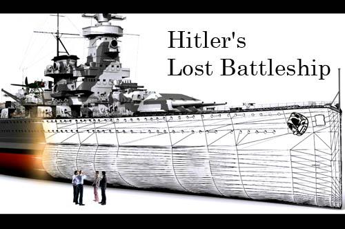 Zaginiony okr�t Hitlera / Hitler's Lost Battleship (2010) PL.TVRip.XviD / Lektor PL