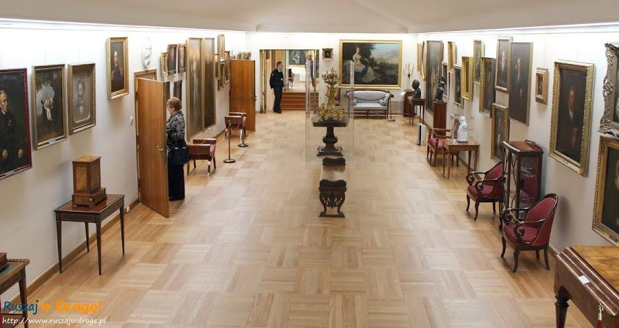 Warszawa Pałac w Wilanowie  - sale wystawowe
