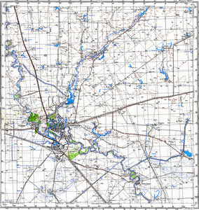 Map 100k--m39-049--(1980)