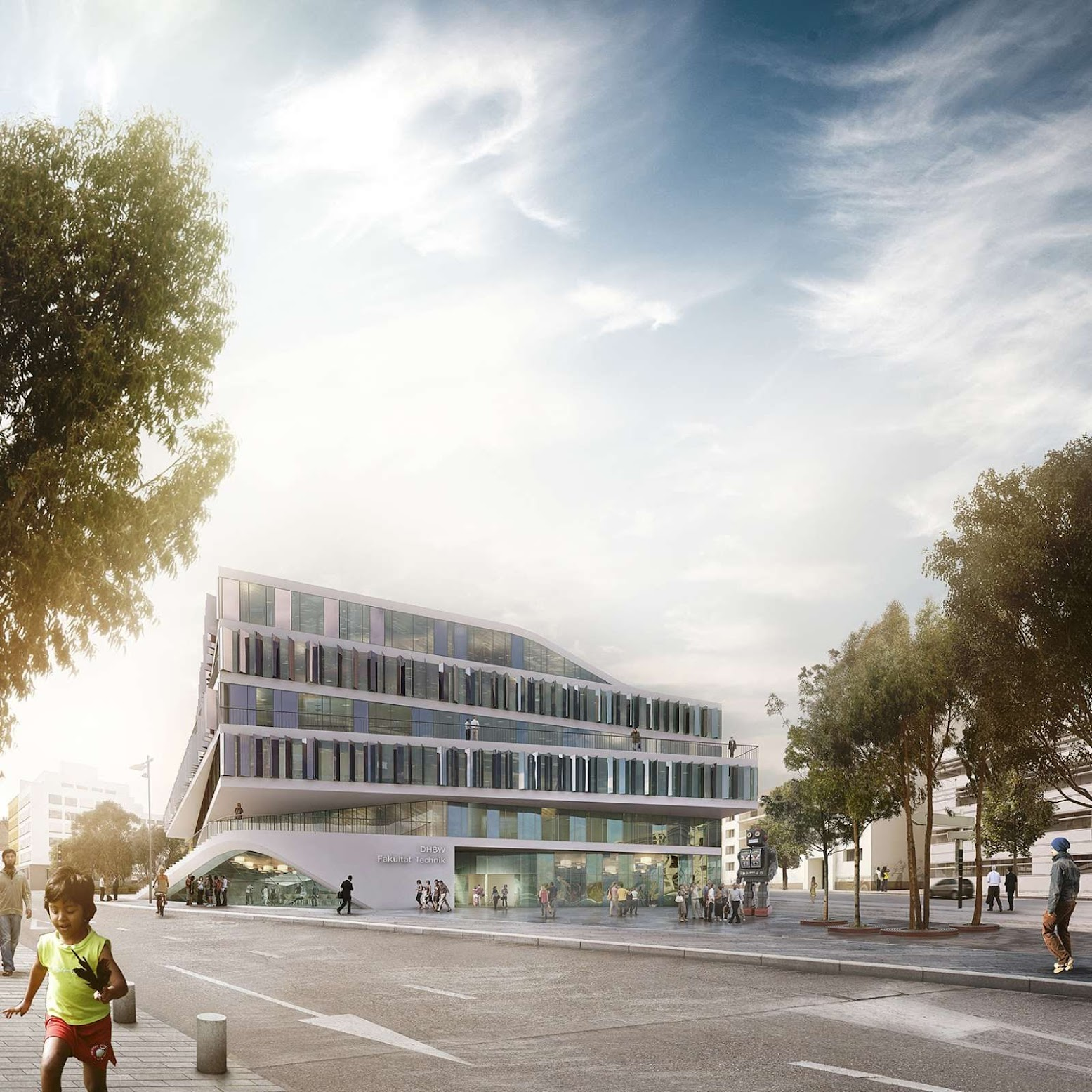 Stoccarda, Germania: [3XN WINS UNIVERSITY BUILDING COMPETITION]